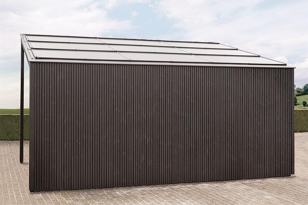 Moderner Carport modern carport in timber livinlodge