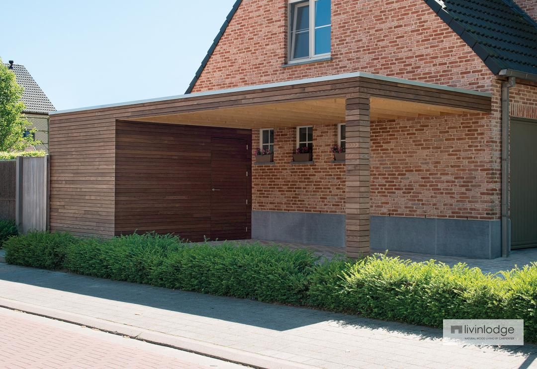 ... Modern Carport In Timber Livinlodge ...